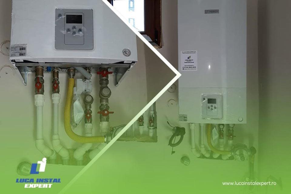 Montaj centrală termică și calorifere